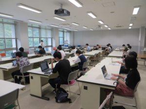 BYOD室での授業の様子