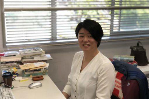【経済学科】新任教員の櫻木規美子助教を紹介!