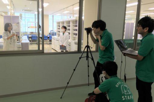 【薬学部】Webオープンキャンパスで施設見学をライブ中継!