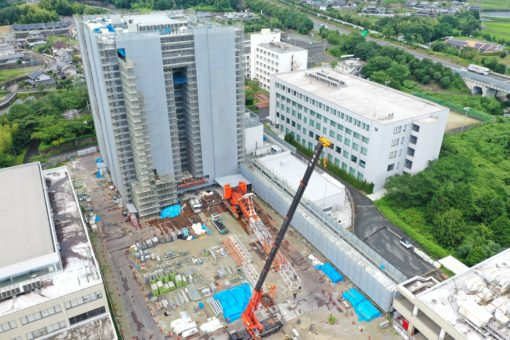 【福山大学】『未来創造館』建設中!!!!!!!!!(その9)