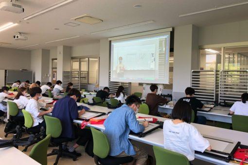 【建築学科】1年生の対面授業を紹介!