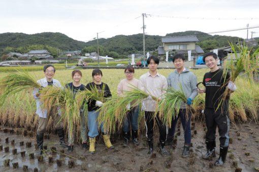 【大学】コロナに負けず今年も米作り!