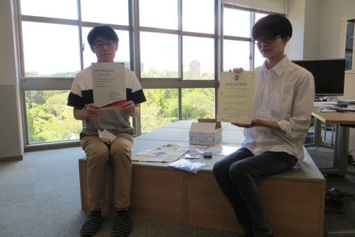 【情報工学科】4年生が国際会議AAI2020にてオンライン発表!