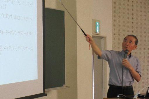 【機械システム工学科】教養ゼミで特別講義を開催!