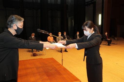 【福山大学】学生表彰&「福山大学の桜」フォトコンテストの合同表彰式を挙行!