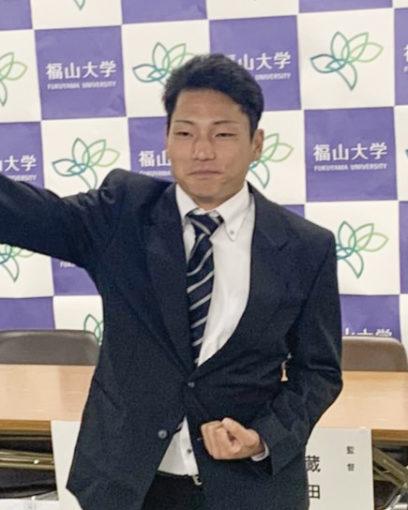【経済学科】福山大学から初のプロ野球選手誕生!!
