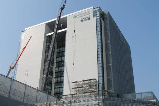 【福山大学】『未来創造館』建設中!!!!!!!!!!!!(その12)