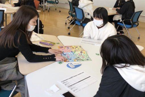 【建築学科】びんご建築女子:自己分析と1年生歓迎会のコラボ企画を実施!