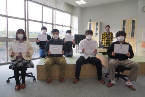 【工学部・工学研究科】IEEE広島支部学生シンポジウム功労賞を受賞!
