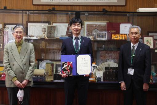 【薬学部】2020年度日本薬学会中四国支部奨励賞おめでとう!