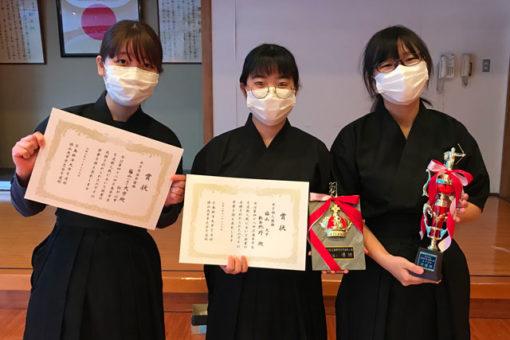 【サークル】広島県学生弓道新人戦で女子個人優勝と女子団体準優勝!