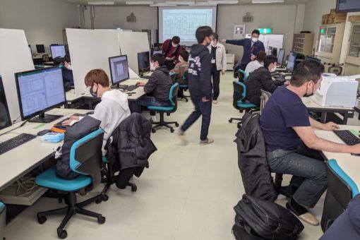 【機械システム工学科】3次元デジタル設計の授業が進行中!