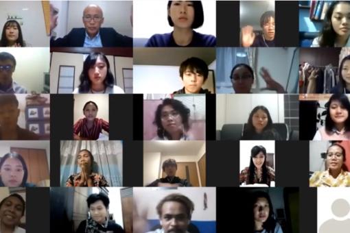 【国際経済学科】オンラインディスカッションで国際交流!