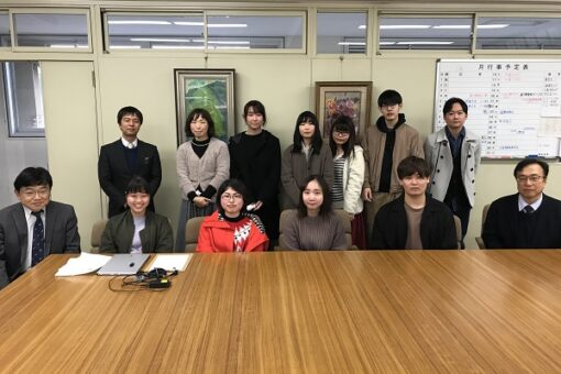 劇団「危防」が広島県立尾道北高等学校にて公演!