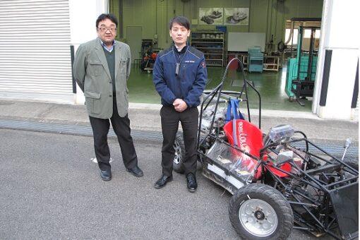 【機械システム工学科】小型電気自動車開発で協働事業契約を締結!