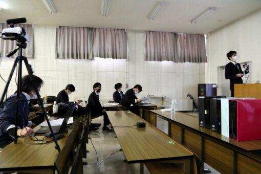 【生物工学科】ウェブで配信 卒業研究発表会
