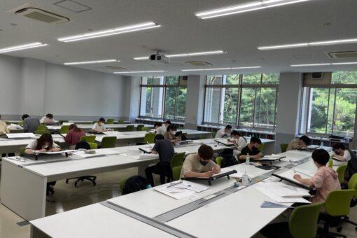 【建築学科】「インテリア設計士検定試験」を実施!