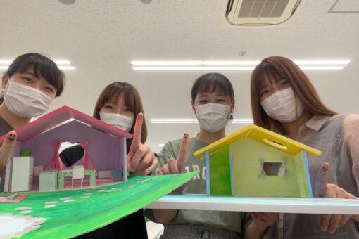【建築学科】夏休みこども模型教室の応募締め切り間近です!