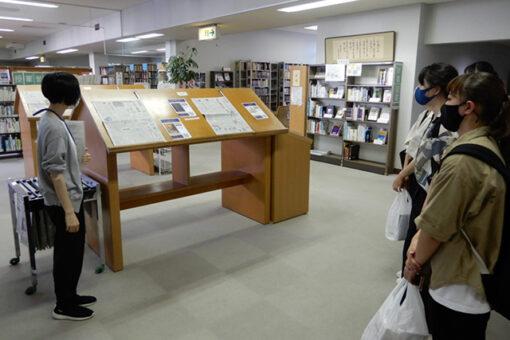 【#メディア・映像学科】図書館の見学