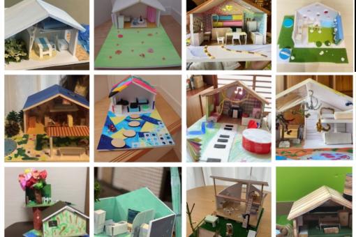 【建築学科】びんご建築女子「夏休みこども建築模型教室」は今年も大成功!