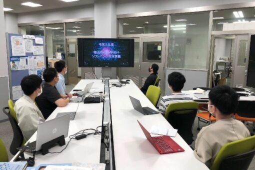 【経済学部・工学部】ソフトバンク株式会社による特別講義でオンラインコンテンツを受講!